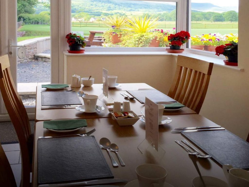 Breakfast at the Lodge Brecon